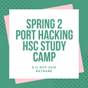 Spring 2 Port Hacking HSC Study Camp